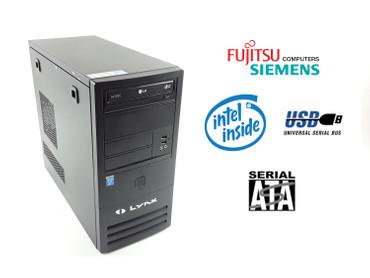 Fujitsu Siemens Mini Tower PC Intel i3-4150 3,5 GHz 4GB RAM 500GB DVD-RW – Bild 1