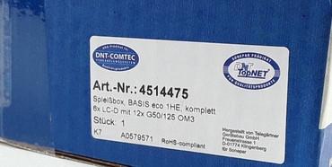 Telegärtner Spleißbox bestückt 6xLCD 50/125 OM3 1HE TNSB-Be-6LCD-50-OM3 – Bild 4