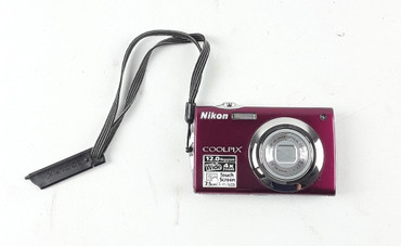 Nikon Digitalkamera COOLPIX S4000 12,0 MP digitaler Fotoapparat Kamera - Rot