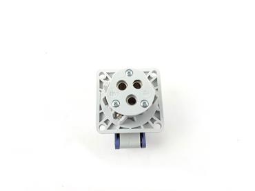 Bals Anbausteckdose  436 - gerade Kleinspannungs-Anbausteckdose 16A IP44 – Bild 2