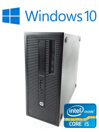 HP Elitedesk 800 G1 Tower Intel Core i5-4590 4x3,3GHz 8GB RAM 500GB HDD DVD – Bild 1