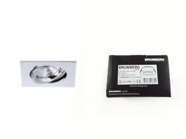 Brumberg LED-Einbauleuchte 12486023 350mA 5,5W 3000-1800K quadratisch chrom – Bild 1