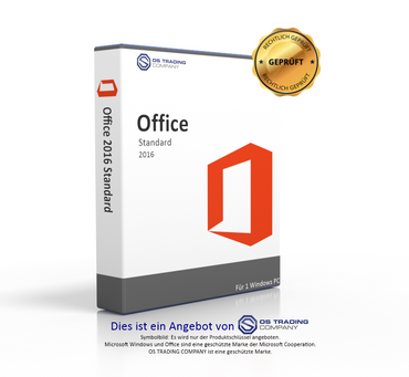 Microsoft Office 2016 Standard Audit Sicher