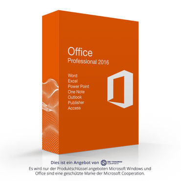Microsoft Office 2016 Professional OEM