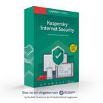Kaspersky Internet Security 2019, 3 Geräte 1 Jahr, NEU 001