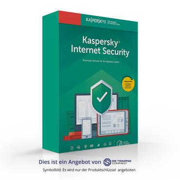 Kaspersky Internet Security 2019, 5 Geräte, 1 Jahr, NEU