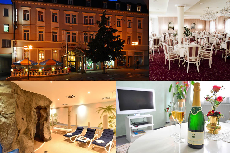 3 days **** Hotel Alexandra in Plauen in the beautiful Vogtland
