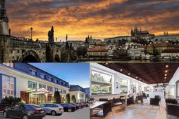 3 days for 2 at the 3* Hotel Astra in the Czech capital Prague
