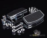 Mini Trittbretter mit Höhenjustierung und Dämpfung für Harley Davidson 001