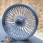 "16x5,5"" Big Spoke Felge, Chrome - hinten Radlager 3/4 Zoll 001"