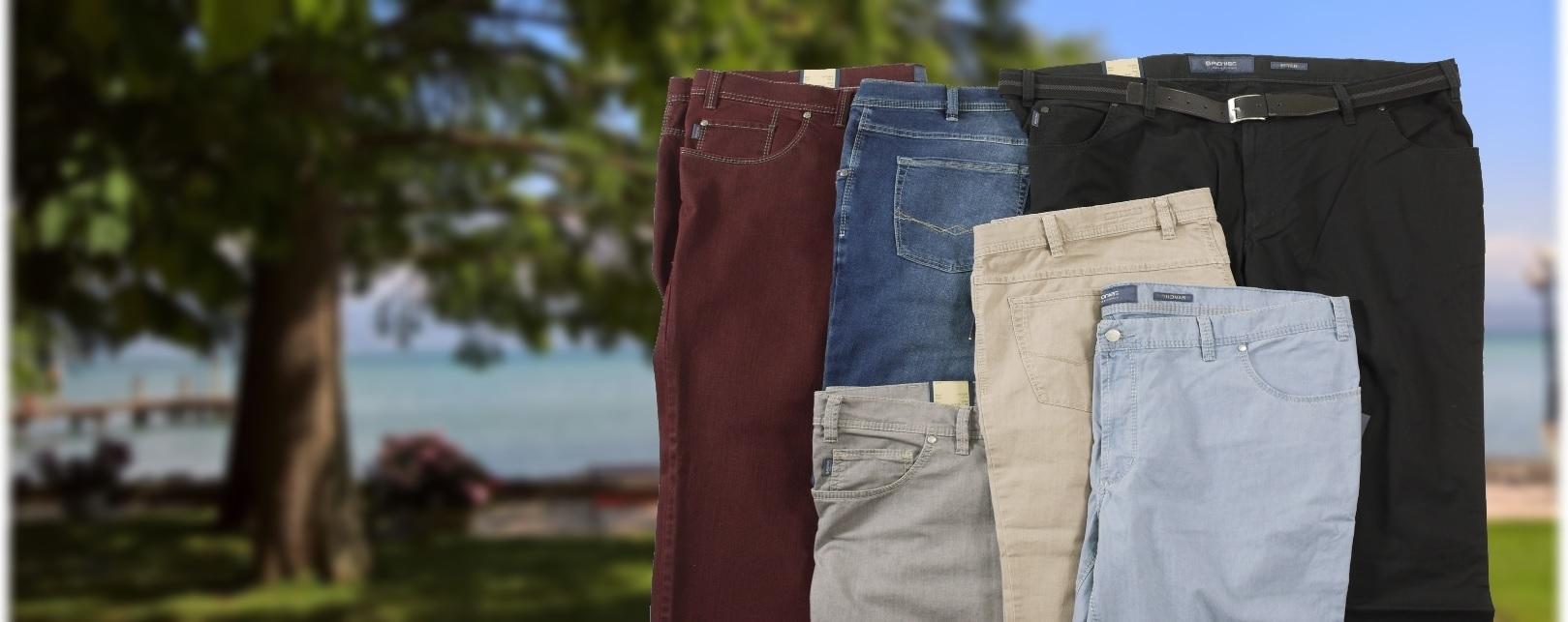Neue Jeans und Sommerhosen