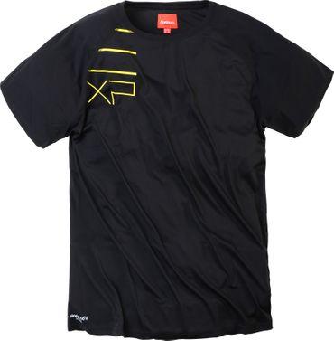 Sport Tech T- Shirt von Allsize in großen Größen, schwarz