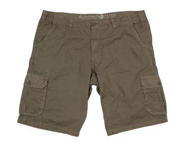 Replika Cargo Shorts in großen Größen, khaki