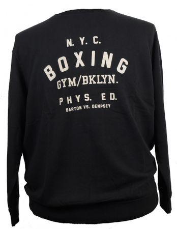 Herren- Sweatshirt von Allsize in großen Größen bis 8XL, schwarz