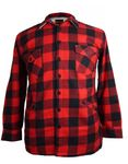 Gefütterte Holzfäller- Hemdjacke von Kamro, rot