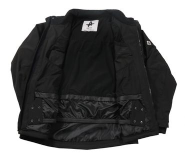 Softshell Winterjacke mit Kapuze von Abraxas, schwarz – Bild 2