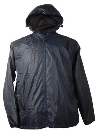 Leichte Regenjacke in Herrenübergröße bis 12XL, blau