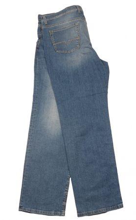 Stonewash Jeans von Pionier in großen Größen, blau