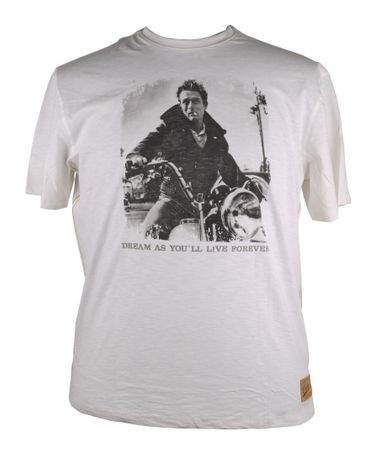 James Dean Shirt von Redfield, creme