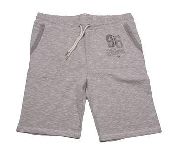Kurze Jogginghose von Kitaro, grau melang – Bild 2
