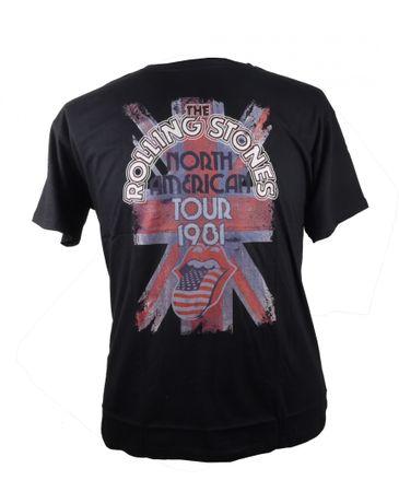 Rolling Stones Shirt von Allsize, schwarz