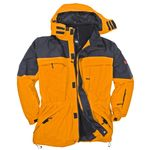 3in1 Jacke Davos von Marc&Mark in Übergröße gelb 001