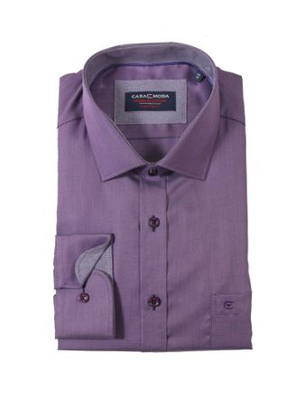 Business- Langarmhemd von CasaModa in aubergine
