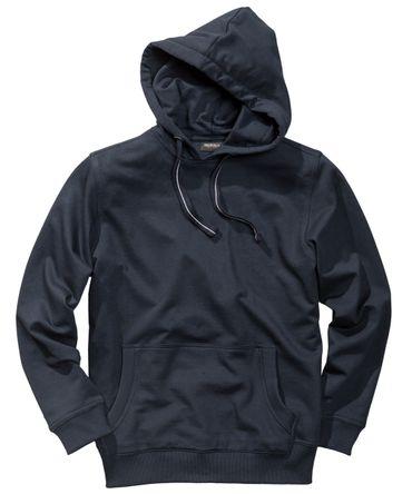 Kapuzen- Sweatshirt von Redfield in Herrenübergröße, navy