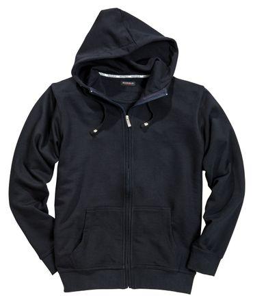 Sweatshirtjacke mit Kapuze von Redfield in Herrenübergröße in navy
