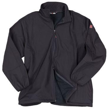 Softshell-Jacke Arosa in Übergröße bis 10XL, schwarz