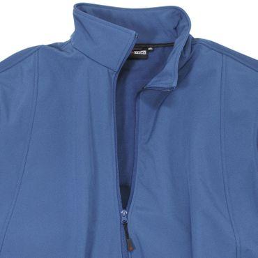 Softshell-Jacke Arosa in großen Größen, royalblau – Bild 2