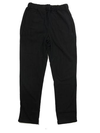 Fleecehose von Marc&Mark in Herrenübergröße bis 10XL, schwarz