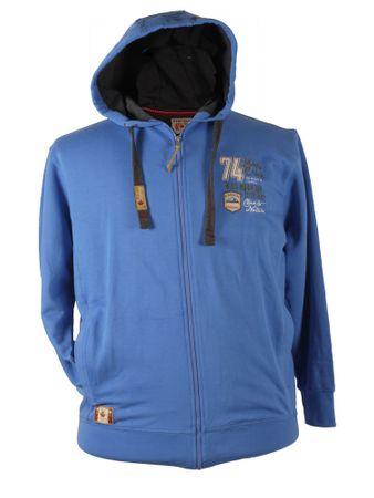 Kapuzen Sweat Jacke von Redfield, blau