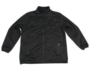 Bi-elastische Softshell-Jacke in schwarz