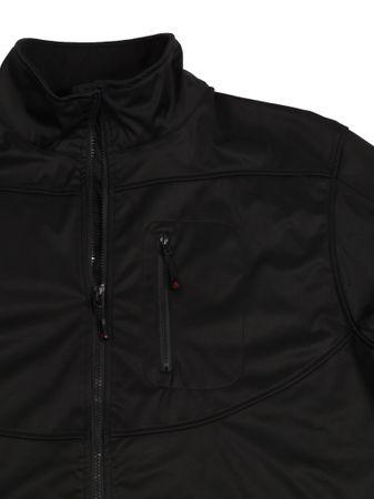 Bi-elastische Softshell-Jacke in schwarz – Bild 2