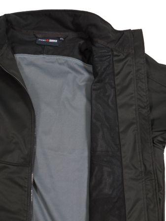 Bi-elastische Softshell-Jacke in schwarz – Bild 3