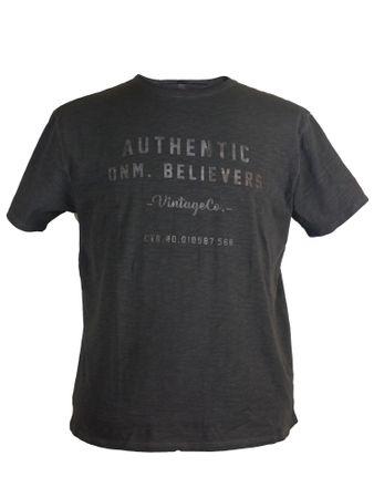 Modernes T-Shirt von Replika in schwarz