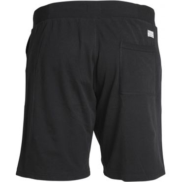 XXL Replika Sweat Shorts in schwarz – Bild 2