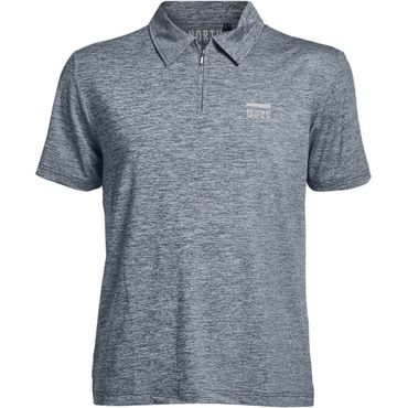 Polo-Shirt mit Cool-Effekt, navy melange