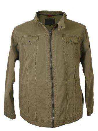 Trendige Sommer Jacke von Allsize in Khaki