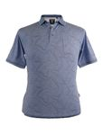 Hajo Stay Fresh Poloshirt, blau 001