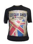 """T-Shirt mit """"Guitar Shop"""" Print von Redfield in schwarz"""