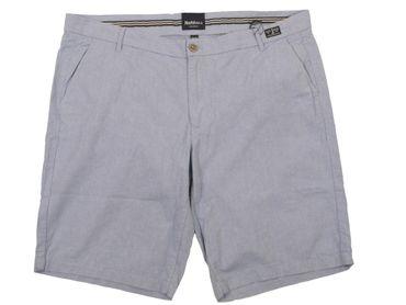 """Chino Shorts von Allsize """" North 56°4 """" in Leinen Optik, hellblau"""