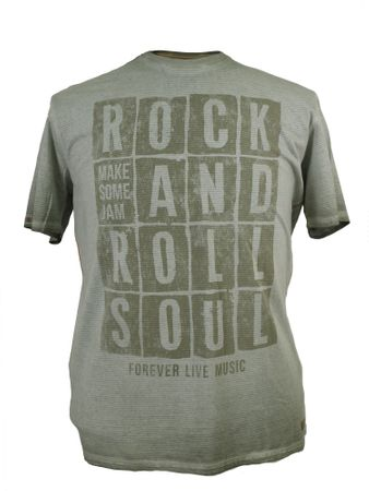 Rock and Roll T-Shirt von Redfield in khaki