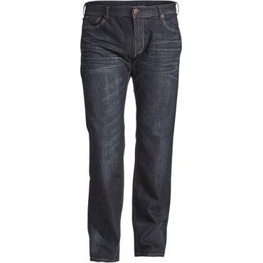 Modisch gewaschene Jeans von Replika in dunkelblau – Bild 1