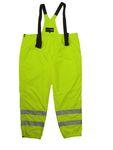 Funktions Arbeitshose / Warnschutzhose in Übergrößen, gelb 001
