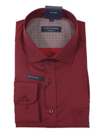 Langarm City Hemd von Casa Moda in rot