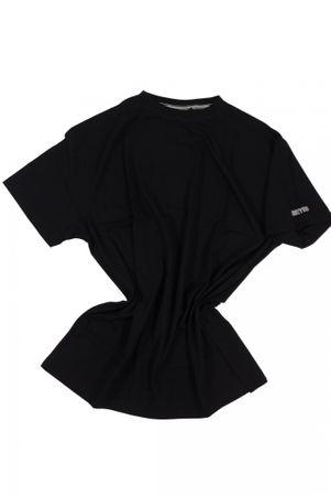 T-Shirt von Allsize in Herrenübergröße bis 8XL, schwarz