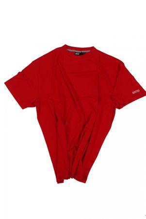 T-Shirt von Allsize in Herrenübergröße bis 8XL, rot