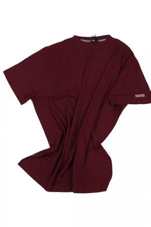 T-Shirt von Allsize in Herrenübergröße bis 8XL, bordeaux